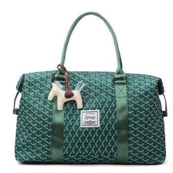 识真手提旅行包干湿分离健身运动包折叠旅行袋