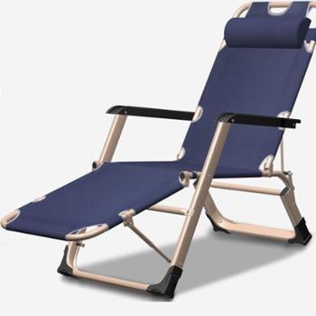 乐享户外办公阳台加粗双方管躺椅折叠午休行军床