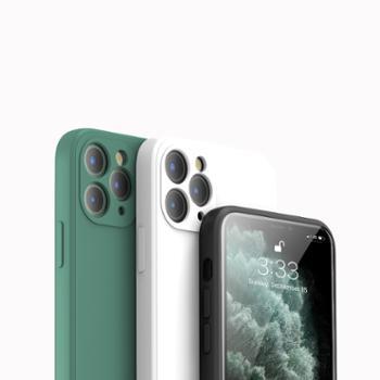 酷薄玩液态硅胶iPhone手机壳苹果7/8PlusXSmax11ProSE/11Promax/12mini