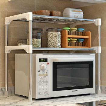 索尔诺新品居家大号实用落地式铁艺厨房浴室层架隔板置物架