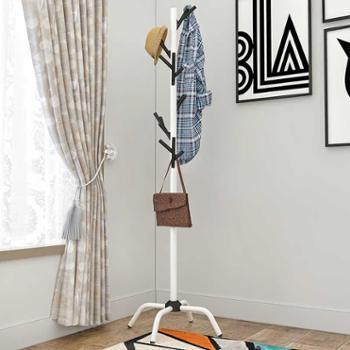 索尔诺衣帽架多功能落地家用卧室挂衣架衣服架办公室客厅创意衣架子