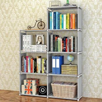 索尔诺书柜自由组合韩式书柜书橱简易书架儿童储物简易
