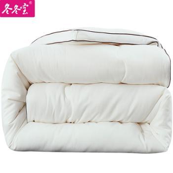 冬冬宝抗菌大豆纤维被春秋被芯加厚冬被单双人学生棉被