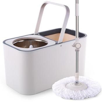 大卫拖把桶旋转拖把自动免手洗家用双驱动干湿两用拖布桶拓扑墩布