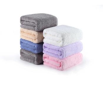 洁丽雅浴巾纯棉成人柔软吸水速干加厚大号毛巾男女婴儿家用裹巾