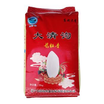 大清沟长粒香大米25kg辽宁景区特产东北大米