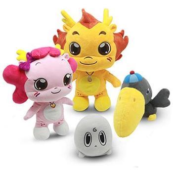 TBZ小伴龙智能玩具 对话公仔玩具 儿童益智玩具早教机 儿童故事机 安抚发声毛绒玩具
