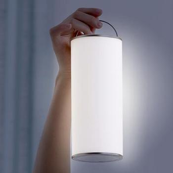 反转静谧烛光灯 护眼床头灯 起夜灯 补光灯 户外露营灯