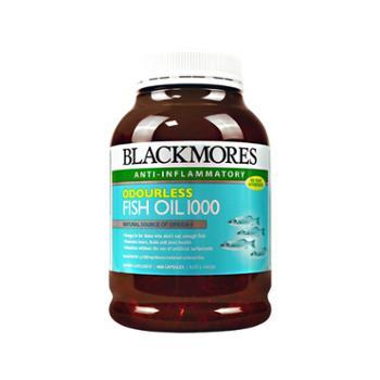 Blackmores 澳洲 澳佳宝 Blackmores 深海无腥味鱼油 400粒/罐