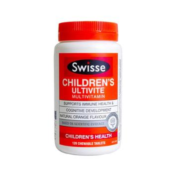Swisse儿童复合维生素咀嚼片120粒/瓶