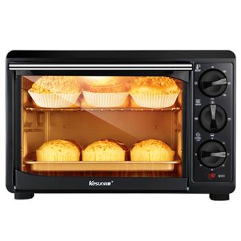 科顺/Kesun 家用烘焙专业电烤箱 上下独立控温 32L TO-328