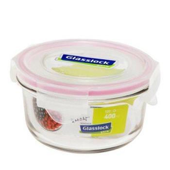 Glasslock韩国进口钢化玻璃饭盒保鲜盒400ML