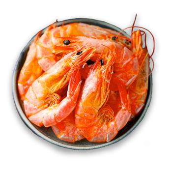 摩时渔鱼现烤对虾干200克*2包约60头左右/包