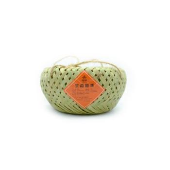 苍松六堡茶生态团茶400克竹篓装团茶生态茶广西特产梧州六堡茶