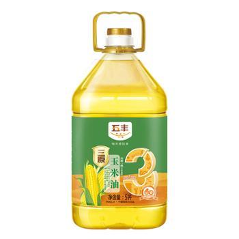 华润五丰 三原压榨一级玉米油 5L