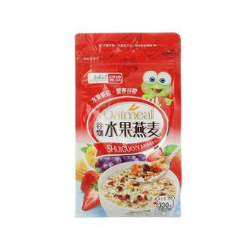 润涵优品 五谷坚果混合可干吃谷物水果燕麦片 330g