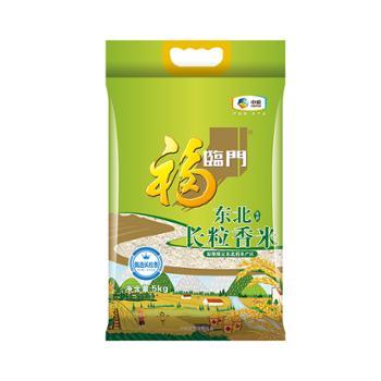 福临门 中粮出品 东北长粒香米 5kg