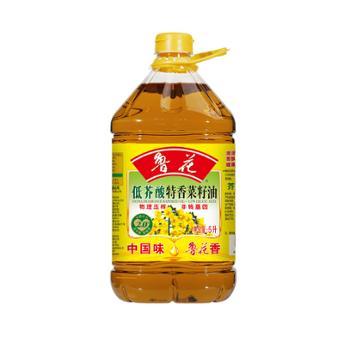 鲁花 低芥酸特香物理压榨菜籽油 5L