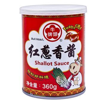 牛头牌 中国台湾红葱香酱 360g*2罐