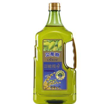 贝蒂斯 稻米橄榄调和油 12%特级初榨橄榄油 1.6L
