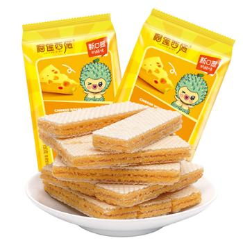 榴莲西施 奶酪脆心威化饼干 150g*2包