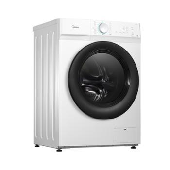 美的变频滚筒洗衣机MG100V11D