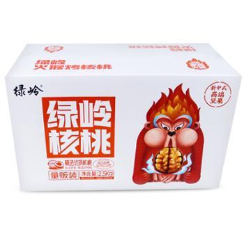 绿岭 火猴原果核桃 2500g 坚果孕妇零食