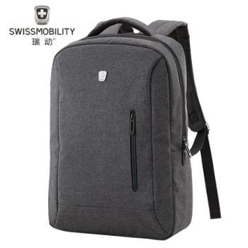 瑞动(SWISSMOBILITY)MT-5918双肩包男女休闲旅行包电脑背包休闲书包