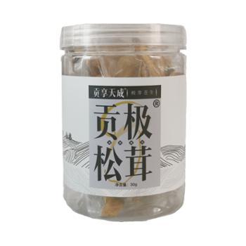 贡极松茸干片四川雅江30g/罐