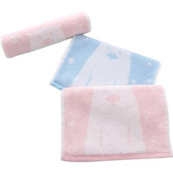 图强 纯棉长绒毛巾(小毛巾) 25*50cm 2条