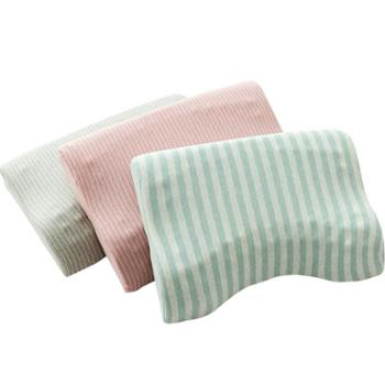 青九纺芦荟记忆枕头枕芯单人慢回弹记忆枕头学生枕头成人护颈椎枕