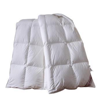 缦缨 羽绒被-全棉仿羽不跑毛方格(送PU皮包) 150*200cm 5斤左右