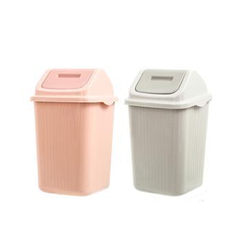 多派垃圾桶大号翻盖2个