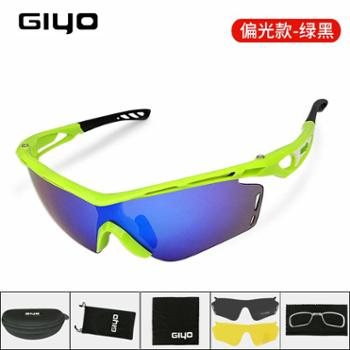 GIYO 骑行眼镜户外防风偏光眼镜自行车装备男女运动跑步护目眼镜