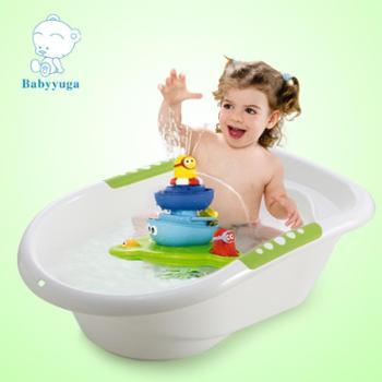 婴儿浴盆宝宝洗澡盆加厚小孩儿童沐浴盆新生儿用品洗浴盆