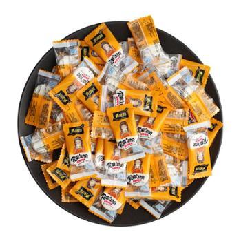 青图腾 干吃奶贝奶贝独立散装休闲零食混合口味 500g