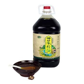 诺水河 四川通江传统物理压榨 菜籽油 5L*4瓶