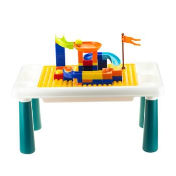 婴侍卫趣味积木桌套装(83颗)HX60822