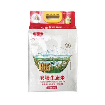 福花 鲁花出品 苏北农场生态米 5kg