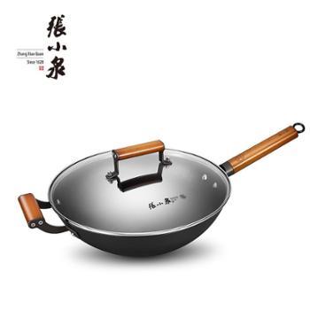 张小泉真不锈铁铸炒锅