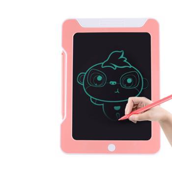 儿童8.5寸液晶手写板涂鸦电子小黑板光能荧光LCD绘画板