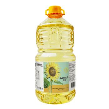 乌克兰进口 丽兹压榨葵花籽油5L