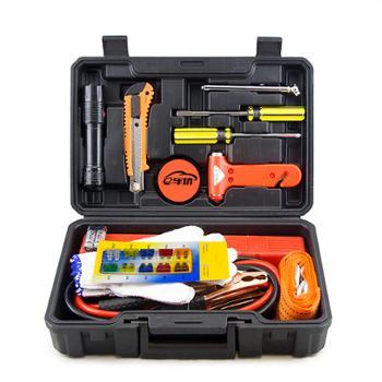 e车坊 新款应急工具箱14件套 YJ014