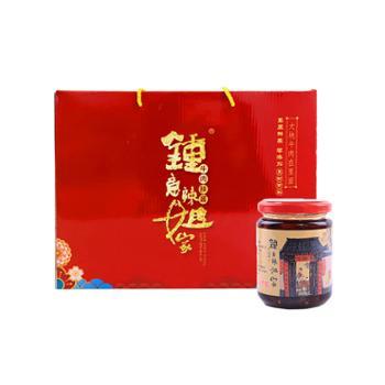 钟意辣姐家牛肉辣酱礼盒210g*6瓶/盒
