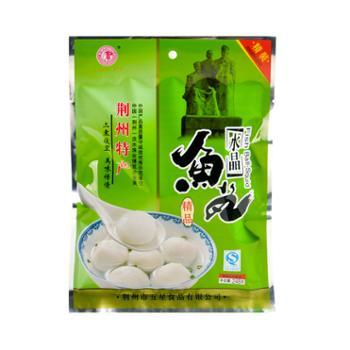 荆裕优选 荆州鱼糕水晶鱼丸 248g