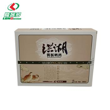 隆客多 洪湖酱板鹌鹑2只装礼盒 100g*2盒