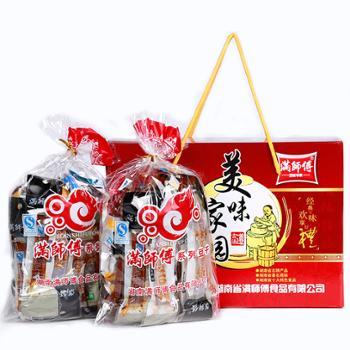 满师傅特味豆腐干1KG小美味礼盒