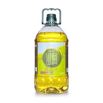 山润压榨菜籽油5L