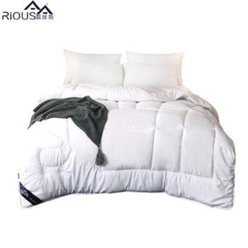 蕊丝坊/RIOUS 加厚澳丝坊羊毛被保暖磨绒冬被羊毛冬厚被品质澳洲羊毛被 保暖,双人适用