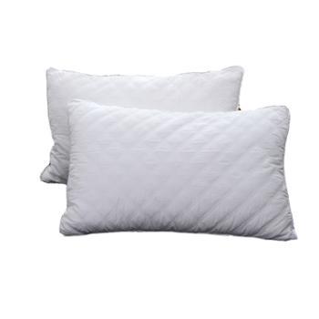 蕊丝坊/RIOUS 纯棉半边绗缝枕一对装 柔软透气